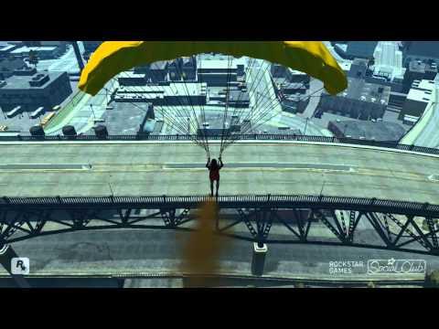 Gta Parachute Stunts 2010
