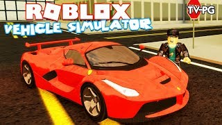 MILLION DOLLAR FERRARI LaFEARRI   Roblox Vehicle Simulator