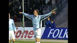 Klassiska klipp med en ung Zlatan / Classic clips with a young Zlatan Ibrahimovic - TV4 Sport