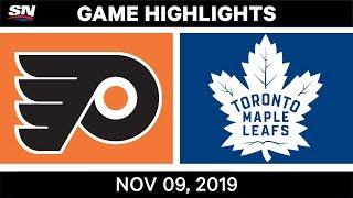 NHL Highlights   Flyers vs. Maple Leafs – Nov. 9, 2019