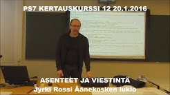 PS7 OSA 12 ASENTEET JA STEREOTYPIAT (20.1.2016)