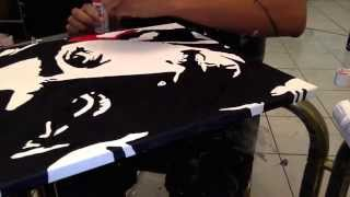DJ SO HYPE DRAWING TUPAC SHAKUR HOW TO DRAW POP ART TUPAC