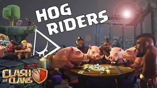 Clash Of Clans - Shattered Hog Rider + Dragons [EnjiGanja]