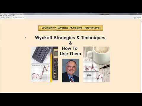 Wyckoff Strategies & Techniques: How To Use Them