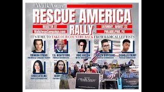 Rescue America (WalkAway) Rally in Philadelphia