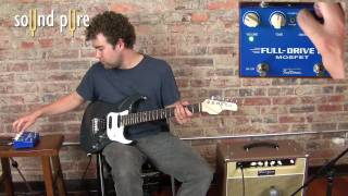 Repeat youtube video Fulltone Full Drive 2 Mosfet Pedal Demo at Sound Pure