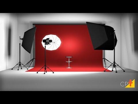 Clique e veja o vídeo Montagem do Estúdio  - Curso a Distância Estúdio Fotográfico - Cursos CPT