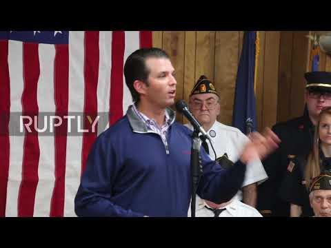USA: Trump Jr. supports Republican candidate Saccone's bid for Congress