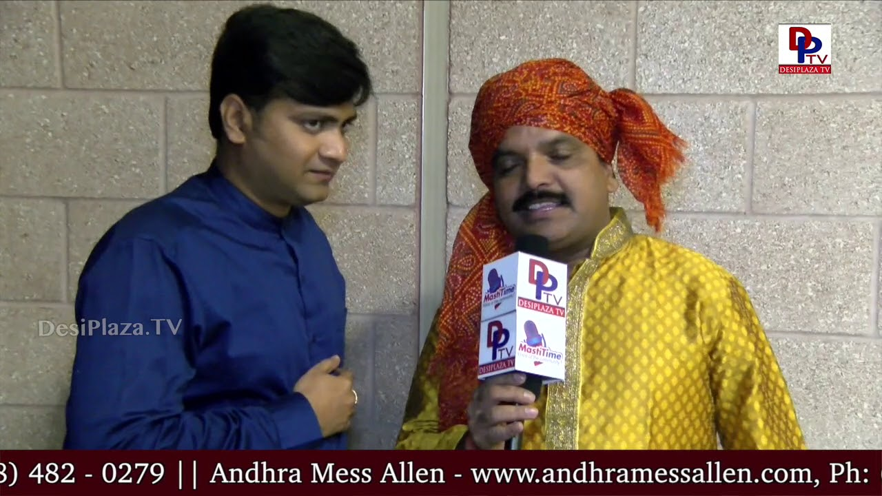 Folk singer Bikshu Naik speaks to DesiplazaTV at American Telugu Convention, Dallas, TX | DPTV