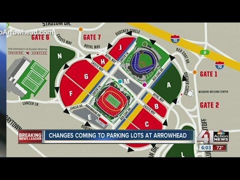New rules for Arrowhead Stadium parking lot