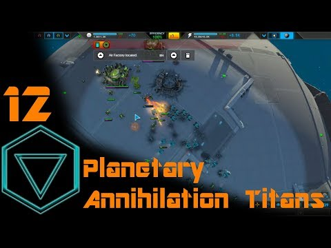 Planetary Annihilation Titans #12 - 6p FFA, ruthless finally