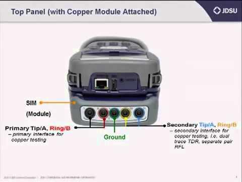 JDSU HST 3000 - Copper Testing