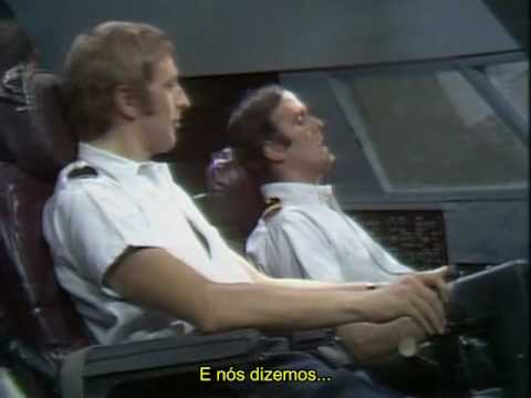 John Cleese - How to irritate People - Airplane Pilots [Legendado]