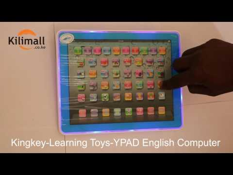 Unbox Review -Kids children educational learning Toys English Computer onlineshipping mall Kenya