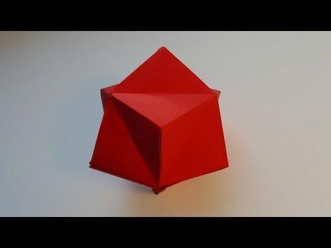 Сделай сам - Звездчатый октаэдр из бумаги