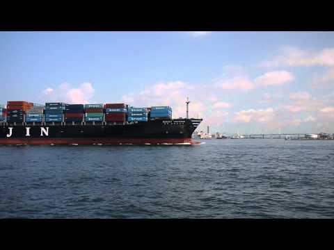 HANJIN PRETORIA (Container ship) 2012-7-2 Osaka,Japan