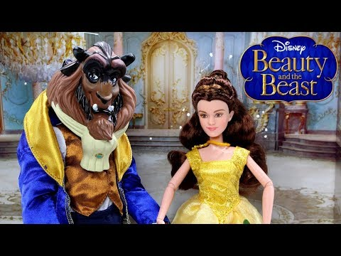 Disney Beast Doll Unboxing and Review | Beauty and the Beast