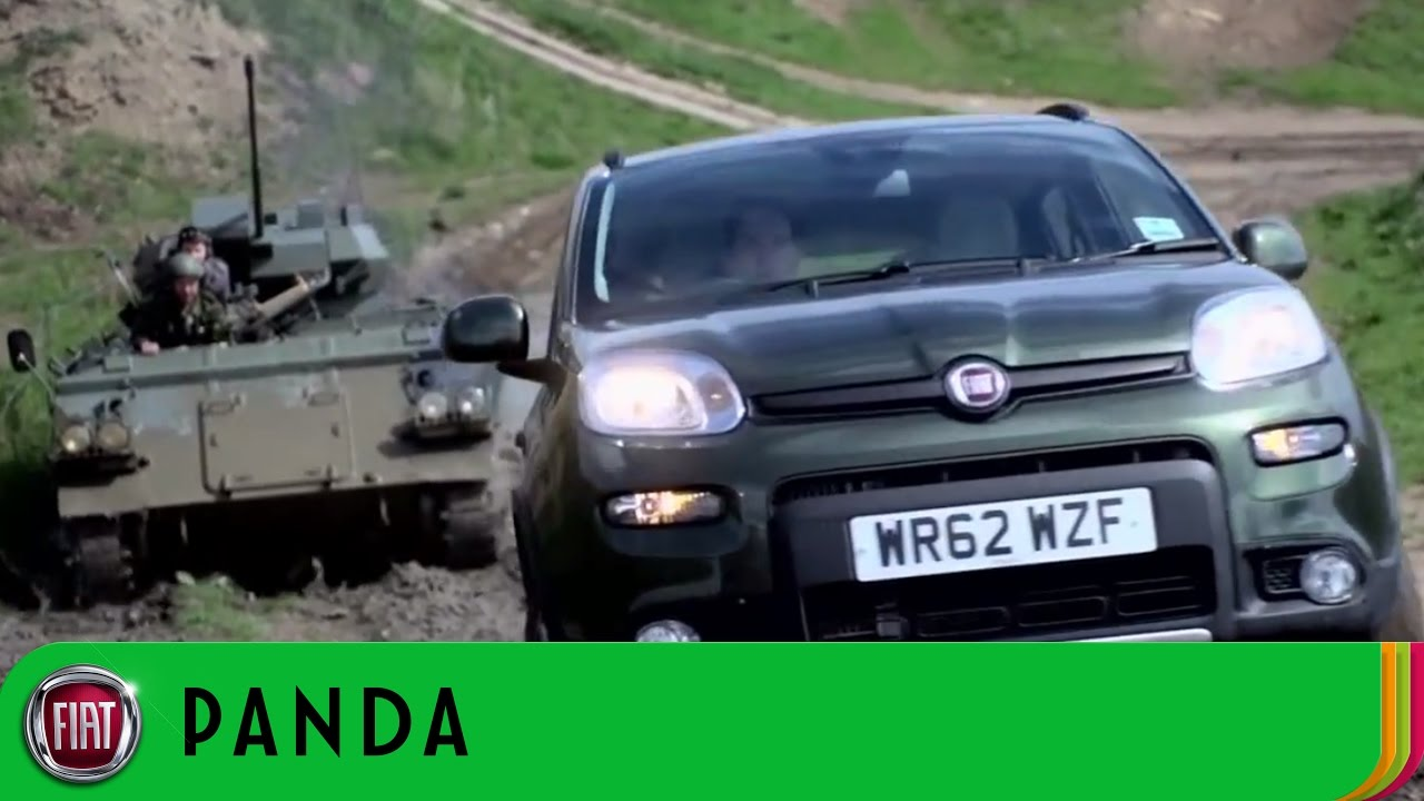 Fiat panda 4x4 at robin hoods bay off road test track for Panda 4x4 sisley off road