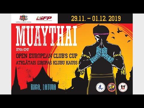 The Open European Muaythai Club's Cup 2019 I 01.12.2019