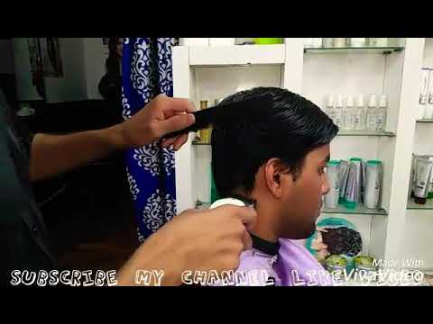 How To Mens Slope Haircut Today 20 April 2018 Youtube