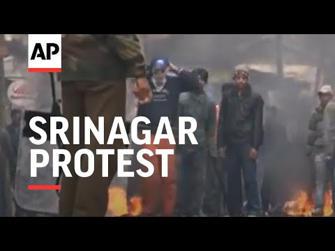 Violent clashes between demonstrators and police