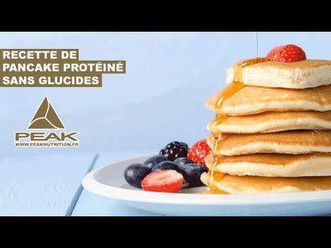 recette de pancake hyper prot in sans farine sans laitage et tr s bas en glucides youtube. Black Bedroom Furniture Sets. Home Design Ideas