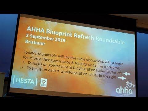 Australian Healthcare And Hospitals Association (AHHA) Blueprint Refresh Roundtable