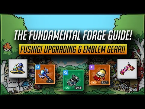 [MS] The Fundamental Forge Guide!! Fusing! Upgrading & Emblem Gear!! [MapleStory M]
