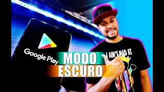 Google Play Store Ganha Modo Escuro  Dark  Noturno No Android 10