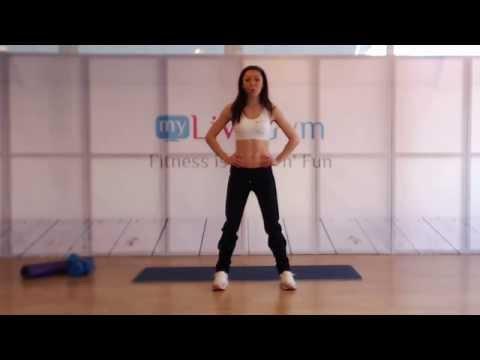 Αδυνάτισμα με Fat Burning γυμναστική στο σπίτι μόνο στο online γυμναστήριο Mygymgr