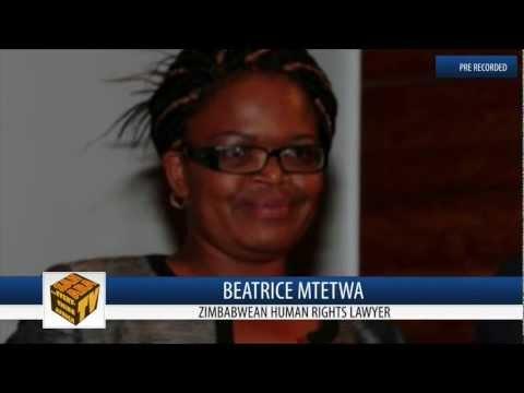 Zimbabwean Human Rights Lawyer Beatrice Mtetwa On SaharaTV