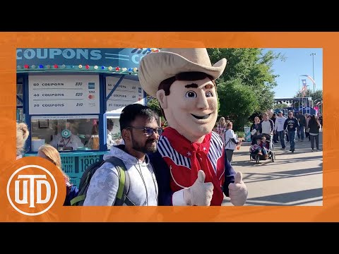 UT Dallas Students Experience The State Fair For The First Time