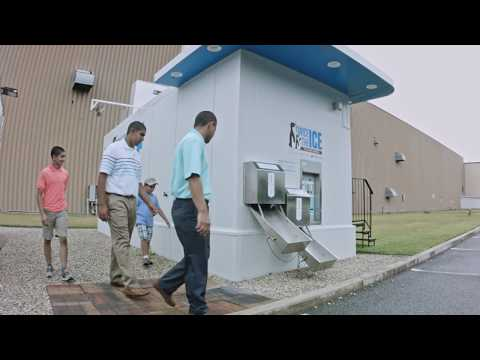 The Water & Ice Vending Machine Leader | Ice House America