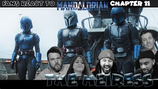 Fans react to The Mandalorian Chapter: 11 The Heiress (chain-reaction)