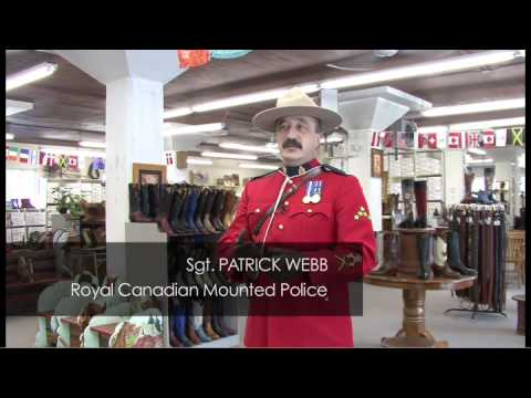 Why Do Mounties Dress That Way? - Alberta, Canada