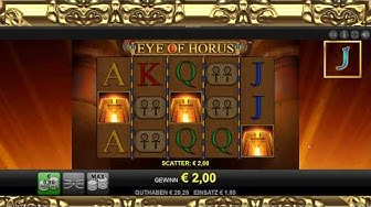#TAG4 - Eye of Horus - 1€ Einsatz - Online Casino