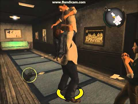 Bully Scholarship Edition Russell Fighting Style+powerbomb
