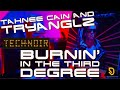 Thumbnail for Tahnee Cain And Tryanglz - Burnin' In The Third Degree LP 1984 (4K)