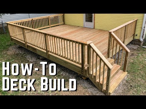 How To Build A Deck Diy Home Improvement Youtube