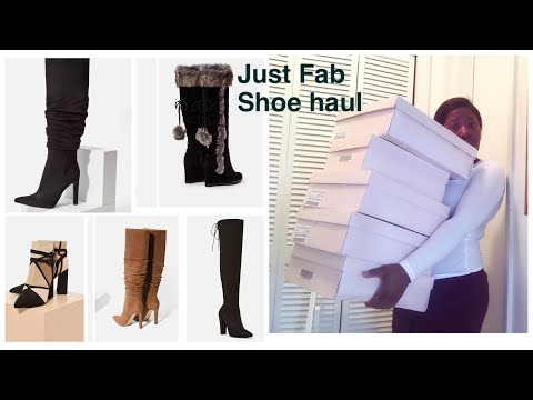 Just Fab Boots Haul