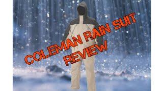 Coleman PVC rain suit overview (vlog 57)