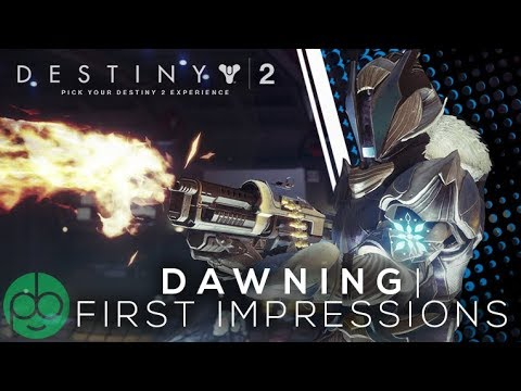 Destiny 2: The Dawning First Impressions thumbnail