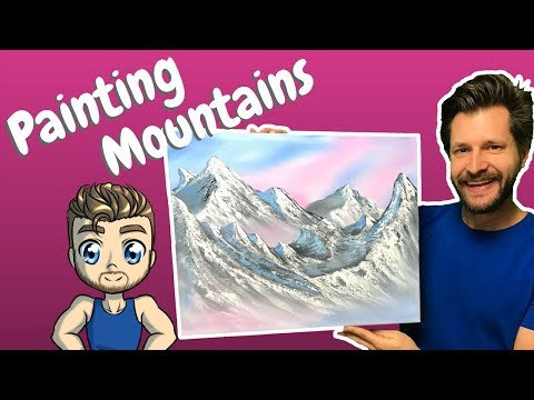 Painting Mountains with Oil for Beginners
