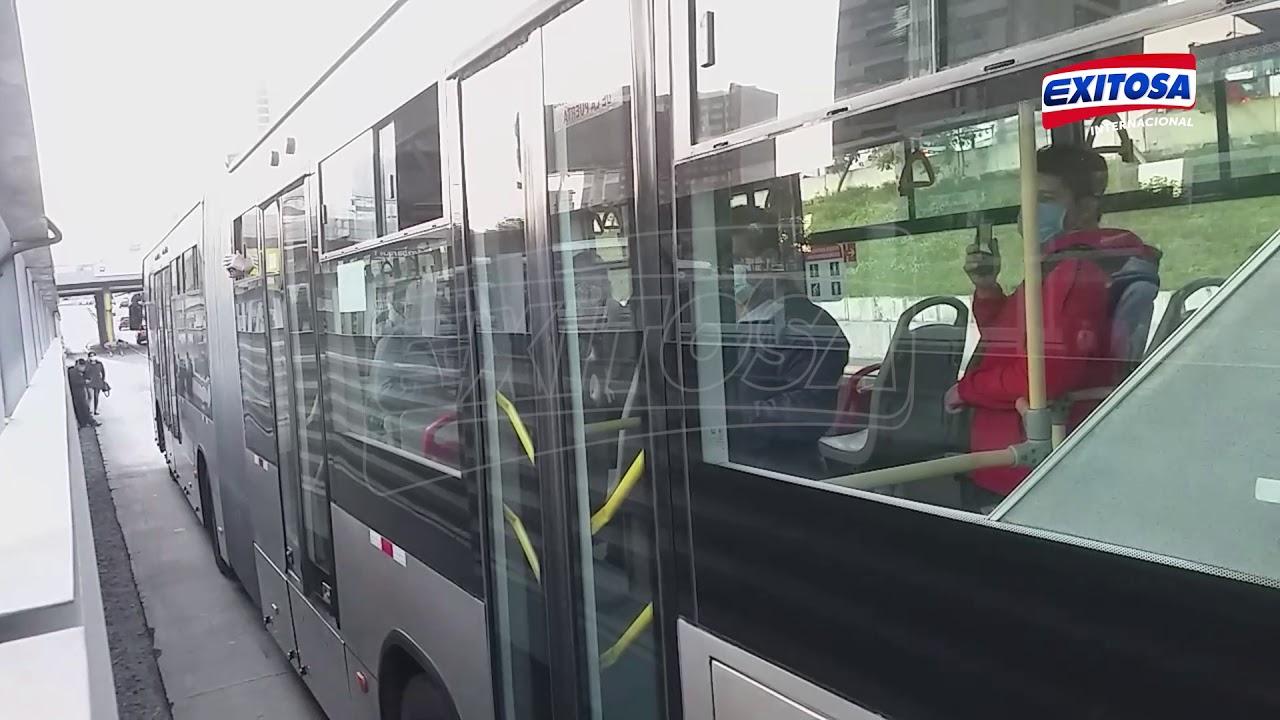 La Victoria: Triple choque de buses del Metropolitano deja 20 heridos