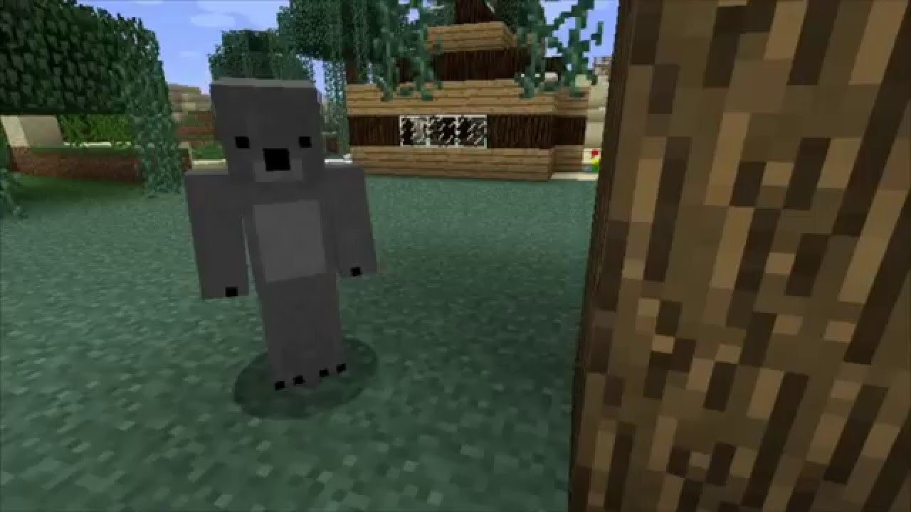 Minecraft Wildlife - Sneak Peek At A Day With A Koala Named George ...