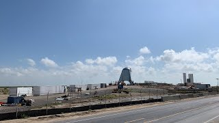 Live at New Starship Landing Pad and Starhopper