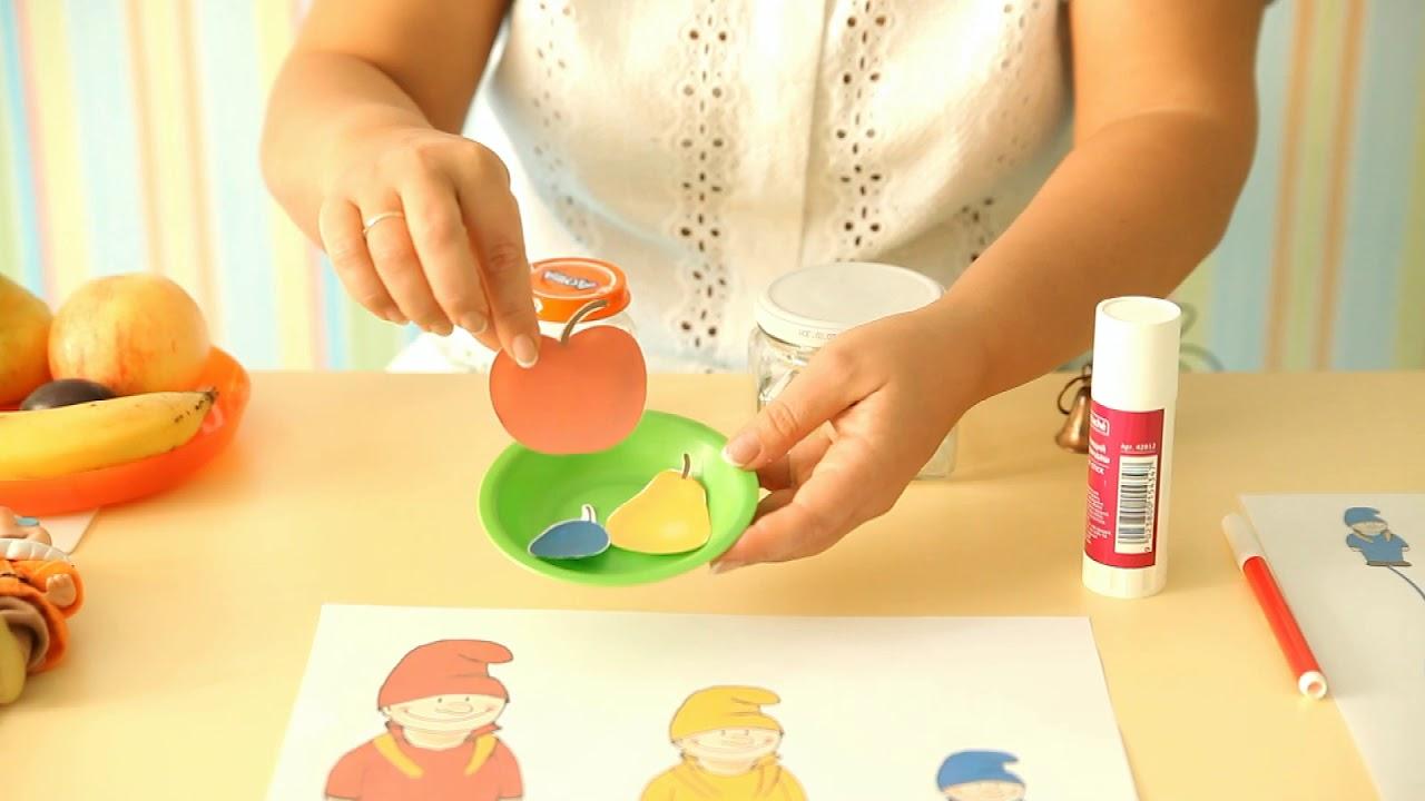 Занятие для детей 2-3 лет №6. Необходимые пособия   Онлайн ...