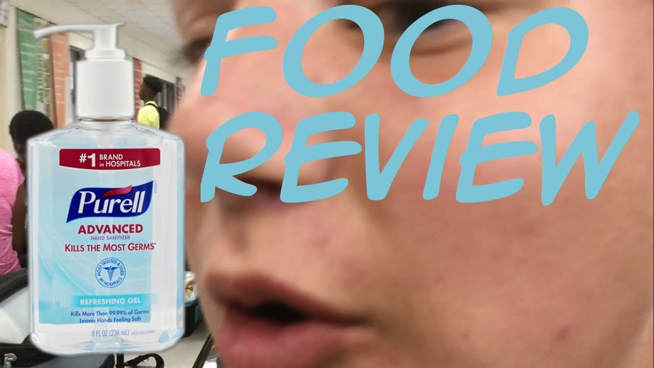 (FOOD REVIEW) Gavin reviews Equate hand sanitizer