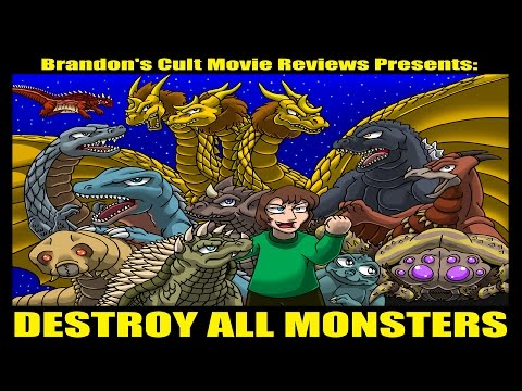 Brandon's Cult Movie Reviews: Destroy All Monsters (REUPLOAD)