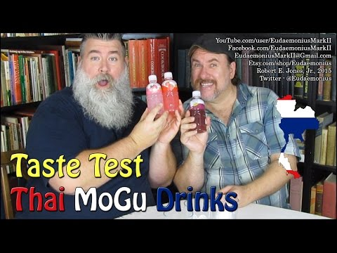 Taste Test THAI MOGU DRINKS - Day 16,807